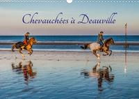 Christof Dardenne - CALVENDO Places  : Chevauchées à Deauville (Calendrier mural 2020 DIN A3 horizontal) - Chevauchées à Deauville en lever de soleil automnal (Calendrier mensuel, 14 Pages ).