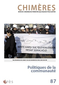 Jean-Claude Polack - Chimères N° 87 : Politiques de la communauté.