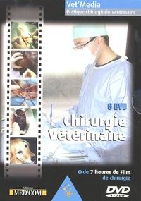 Laurent Bouhanna - Chirurgie vétérinaire, coffret de 6 DVD - DVD Vidéo.
