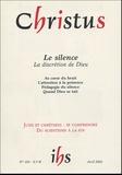 Claude Flipo et André Beauchamp - Christus N° 194, Tome 49, Avr : Le silence - La discrétion de Dieu.
