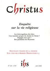 Paul Legavre - Christus N° 210, Avril 2006 : Enquête sur la vie religieuse.