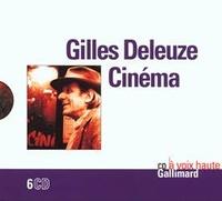 Gilles Deleuze - Cinéma. 6 CD audio