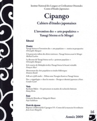"""Christophe Marquet et Jean-Michel Butel - Cipango N° 16/2009 : L'invention des """"arts populaires"""" Yanagi Soetsu et le Mingei."""