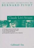 Claude Lévi-Strauss et Bernard Pivot - Claude Lévi-Strauss.