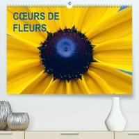 Patrick Kessler - CŒURS DE FLEURS (Calendrier supérieur 2020 DIN A2 horizontal) - Plaisir d'une année fleurie (Calendrier mensuel, 14 Pages ).