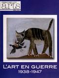 Pascale Bertrand - Connaissance des Arts Hors-série N° 555 : L'art en guerre 1938-1947 - De Picasso à Dubuffet. Exposition présentée du 12 octobre 2012 au 17 février 2013 au musée d'Art moderne de la Ville de Paris.