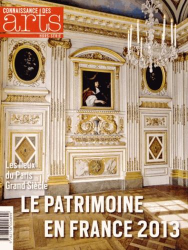 Guy Boyer - Connaissance des Arts Hors-série N° 591 : Le Patrimoine en France 2013.