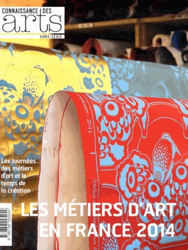 Guy Boyer - Connaissance des Arts Hors-série N° 617 : Les métiers d'art en France 2014.