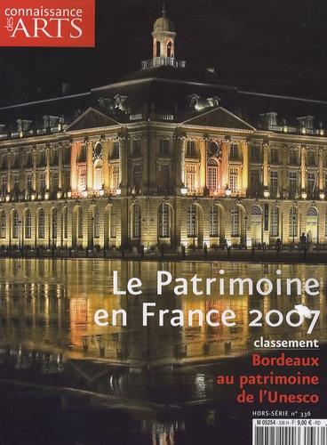 Guy Boyer et Axelle Corty - Connaissance des Arts N° Hors-série 336 : Le Patrimoine en France 2007.