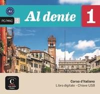 Casa delle lingue - Corso d'italiano A1 Al dente 1 - Libro digitale. 1 Clé Usb