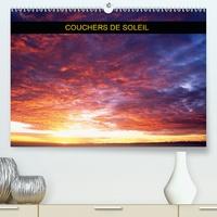 Patrick Kessler - Couchers de soleil (Calendrier supérieur 2020 DIN A2 horizontal) - Série de couchers de soleil à travers les saisons (Calendrier mensuel, 14 Pages ).