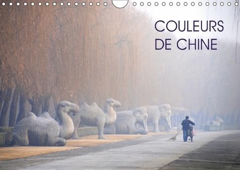 Couleurs de Chine. Toute la richesse des couleurs chinoises. Calendrier mural A4 horizontal  Edition 2018