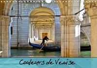 Catherine Gaffiero - CALVENDO Places  : Couleurs de Venise (Calendrier mural 2020 DIN A4 horizontal) - Promenade colorée au fil des canaux. (Calendrier mensuel, 14 Pages ).