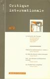 Partha Chatterjee et Ghassan Salamé - Critique internationale N° 2, hiver 1999 : La formation de l'Europe.