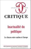 Sudhir Hazareesingh - Critique N° 697-698, Juin-Jui : Inactualité du politique.