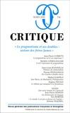 Jean-Pierre Cometti et Michèle Cohen-Halimi - Critique N° 754, Mars 2010 : Le pragmatisme et ses doubles : autour des frères James.