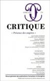 Jean-Frédéric Schaub et Guillaume Bridet - Critique N° 779, Avril 2012 : Présence des empires.