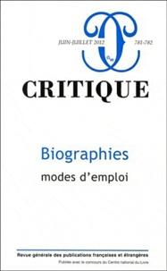 Emily S. Apter - Critique N° 781-782, juin-jui : Biographies, mode d'emploi.
