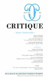 """Elie During - Critique N° 804, Mai 2014 : """"Ruyer l'inclassable""""."""