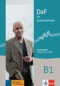 Ilse Sander - DaF im Unternehmen B1. 1 DVD + 2 CD audio
