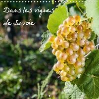 Francis Demange photographe - Dans les vignes de Savoie (Calendrier mural 2020 300 × 300 mm Square) - Les vignes au pays de Savoie (Calendrier mensuel, 14 Pages ).