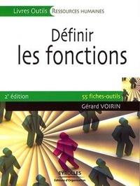 Gérard Voirin - Définir les fonctions.
