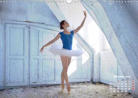 Des danseurs dans la ville 3 L'Oeil et le Mouvement (Calendrier mural 2020 DIN A3 horizontal). La grâce fascinante des danseurs à la ville (Calendrier mensuel, 14 Pages )