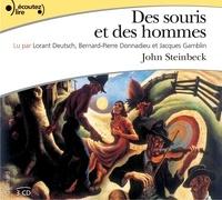 John Steinbeck - Des souris et des hommes. 3 CD audio