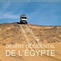 Rudolf Blank - Désert occidental de l'Égypte (Calendrier mural 2020 300 × 300 mm Square) - Noir et blanc dans ce désert libyque d'Égypte – le désert occidental (Calendrier mensuel, 14 Pages ).
