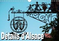 Thomas Bartruff - Détails d'Alsace (Calendrier mural 2020 DIN A4 horizontal) - Calendrier mensuel avec 12 belles photos de l'Alsace typique (Calendrier mensuel, 14 Pages ).