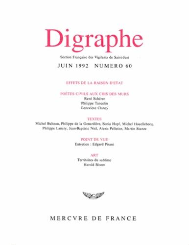 Mercure de France - Digraphe N° 60 : .
