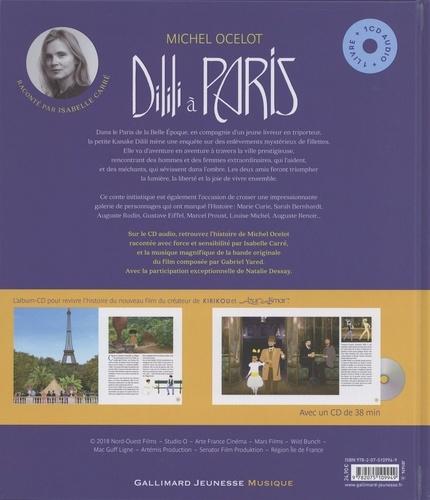 Dilili à Paris  avec 1 CD audio