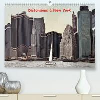 Serge Nouchi - Distorsions à New York (Calendrier supérieur 2020 DIN A2 horizontal) - Les gratte-ciels de New York vue en distorsions (Calendrier mensuel, 14 Pages ).