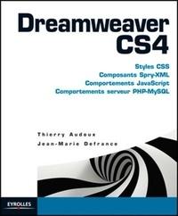 Jean-Marie Defrance et Thierry Audoux - Dreamweaver CS4.