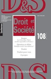 LGDJ - Droit et Société N° 108/2021 : .