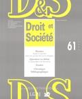 Baudouin Dupret - Droit et Société N° 61/2005 : Droit et expertise dans une perspective praxéologique.