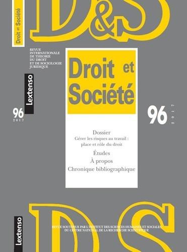LGDJ - Droit et Société N° 95/2017 : .