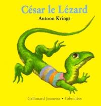 Antoon Krings - Drôles de petites bêtes N° 17 : César le lézard.