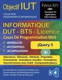 Patrice Rey - DUT informatique jQuery 3 - Tome 11, Avec Visual Studio Code.