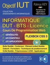 Patrice Rey - DUT Informatique - Tome 12, Flexbox, avec Visual Studio Code.