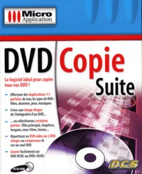 Editions Micro Application - DVD Copie Suite - CD-ROM.