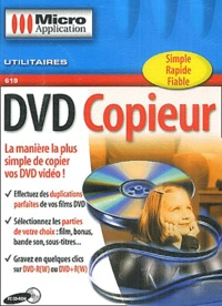 Editions Micro Application - DVD Copieur - CD-ROM.