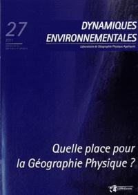 Dynamiques environnementales N° 27/2011.pdf