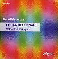 AFNOR - Echantillonnage - Méthodes statistiques. 1 Cédérom