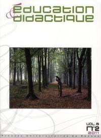 Joël Lebeaume - Education & didactique Vol. 5, N° 2, novemb : .