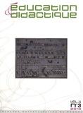 Gérard Sensevy - Education & didactique Volume 4, N° 3/2010 : .