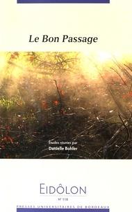 Danielle Bohler - Eidôlon N° 118 : Le Bon Passage.