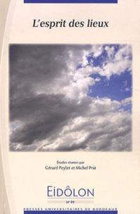 Gérard Peylet et Michel Prat - Eidôlon N° 99 : L'esprit des lieux.