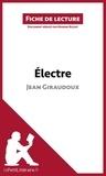 Marine Riguet - Electre de Jean Giraudoux - Fiche de lecture.