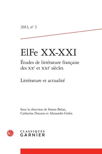 ElFe XX-XXI N° 3, 2013